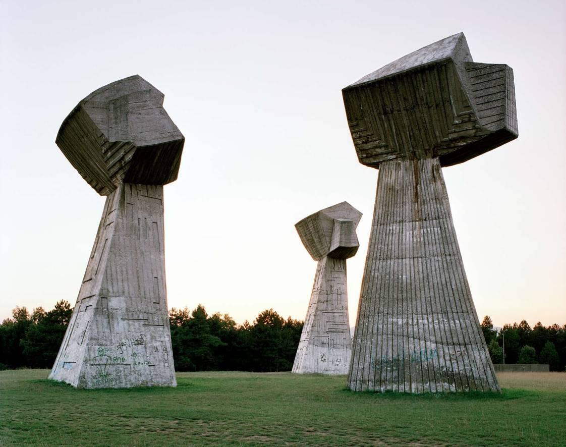 Jan Kempenaers - 'Spomenik #11 (Niš)' 2007. Courtesy of Breese Little