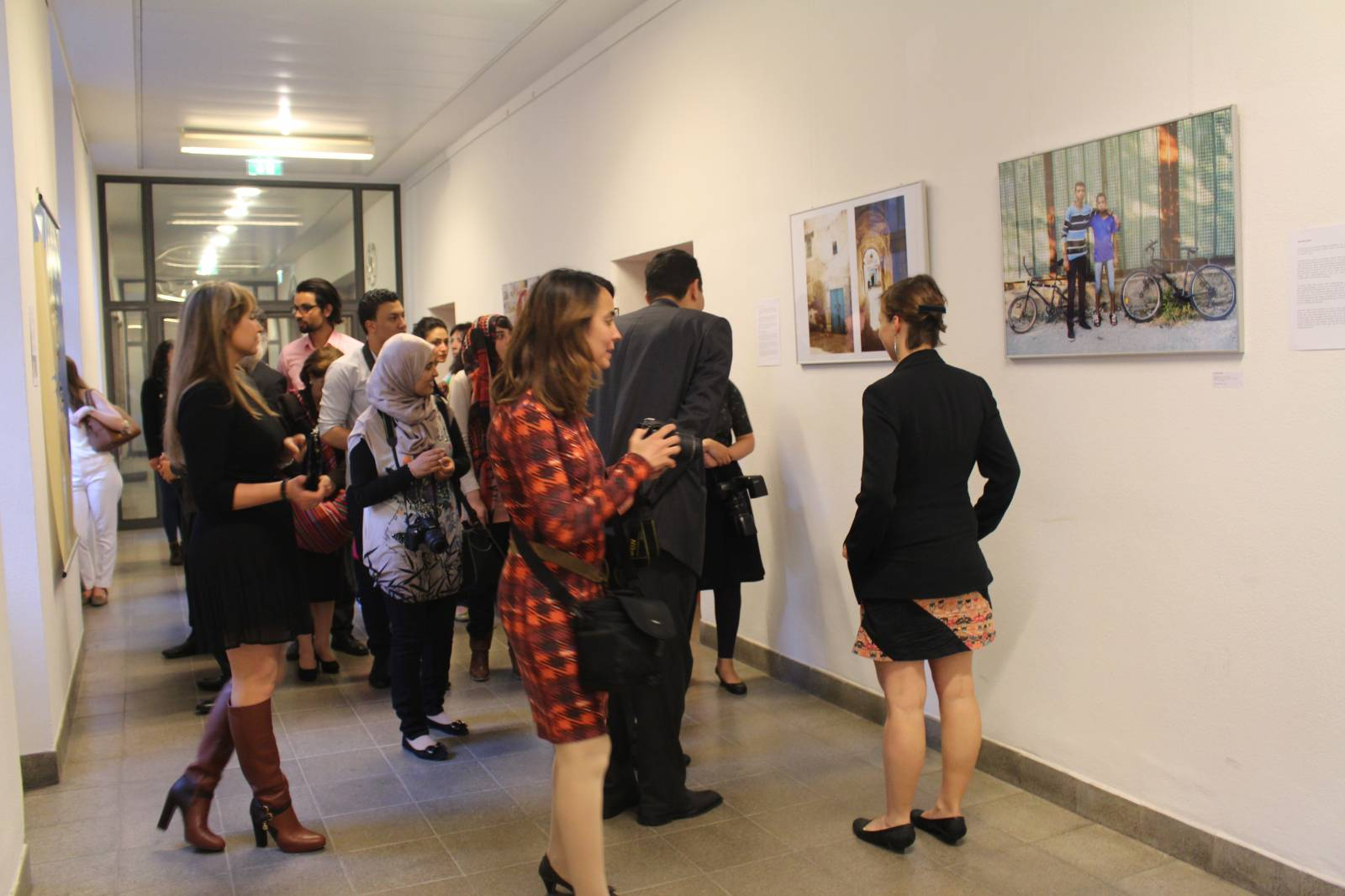 'Blasti' photo exhibition on Tunisian women in Sttudgart. © Blasti.tn